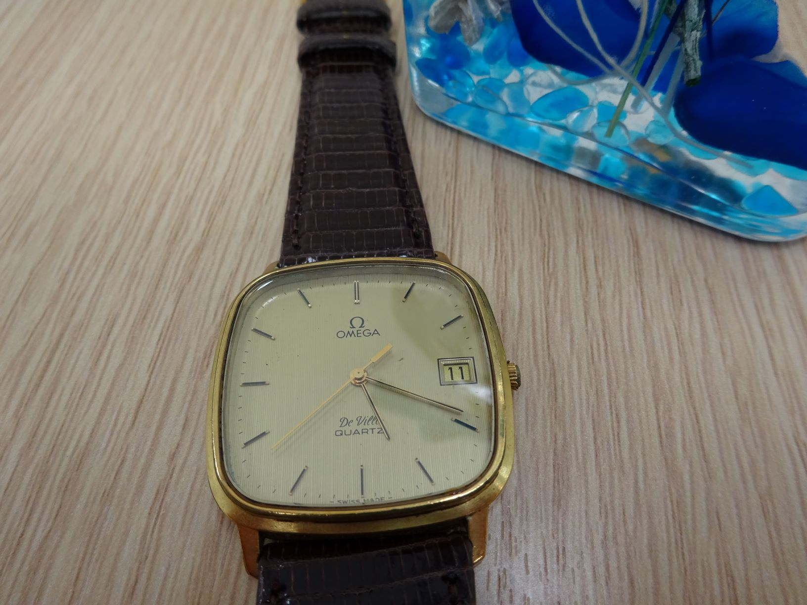 時計:オメガ デビル メンズ