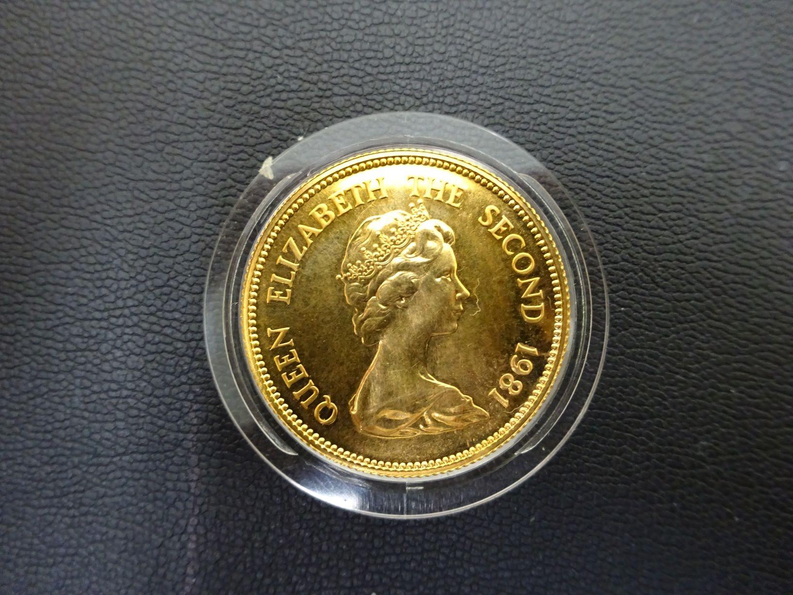 香港1000ドル金貨
